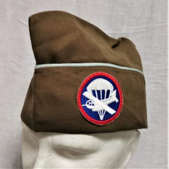 BONNET DE POLICE TROUPES AEROPORTEES US ARMY 1939-1945 REPRODUCTION
