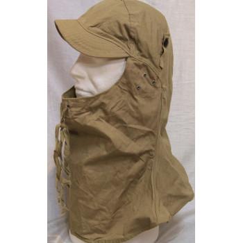 """CAPUCHE DE PROTECTION """"HOOD CLOTH"""" M1941 US ARMY 2ème GM"""