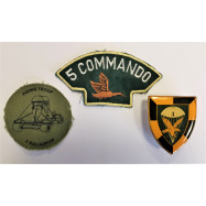 LOT INSIGNES COMMANDOS...