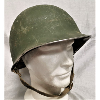 CASQUE M1 US ARMY BATAILLE DE NORMANDIE 1944