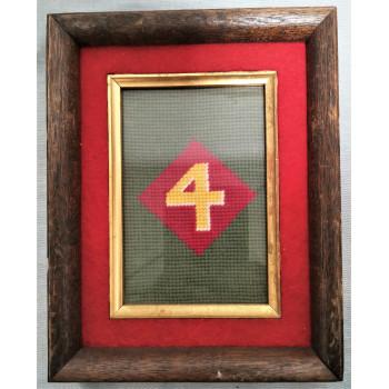 CADRE 4th US MARINE CORPS DIVISION USMC 1939-1945